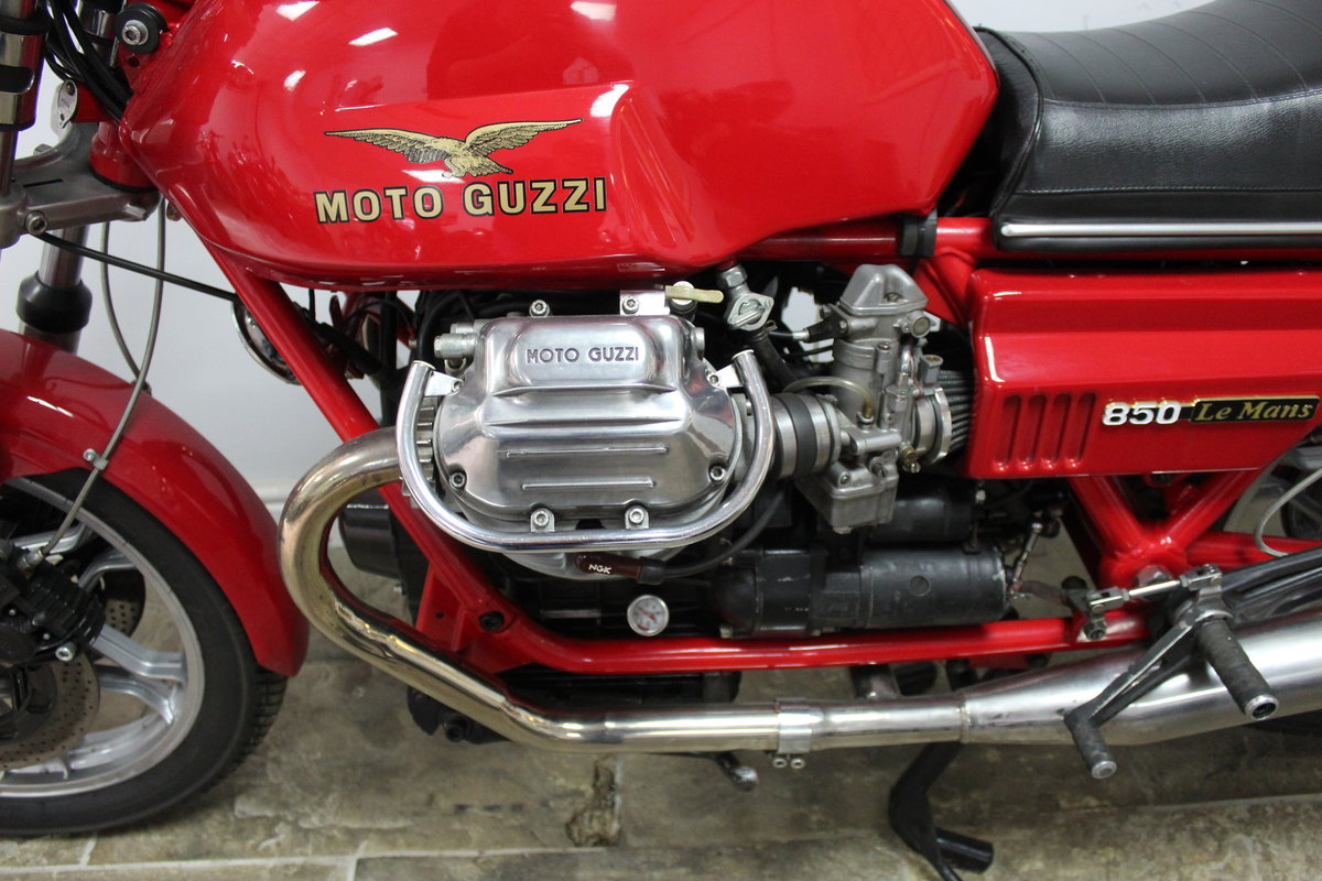 1981 Moto Guzzi MK11 Le Mans 850 cc Ex South African  SOLD (picture 6 of 6)