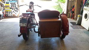moto guzzi sport 14 sidecar 1929 For Sale
