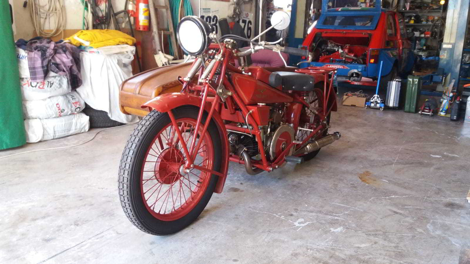 moto guzzi sport 14 sidecar 1929 For Sale (picture 2 of 4)