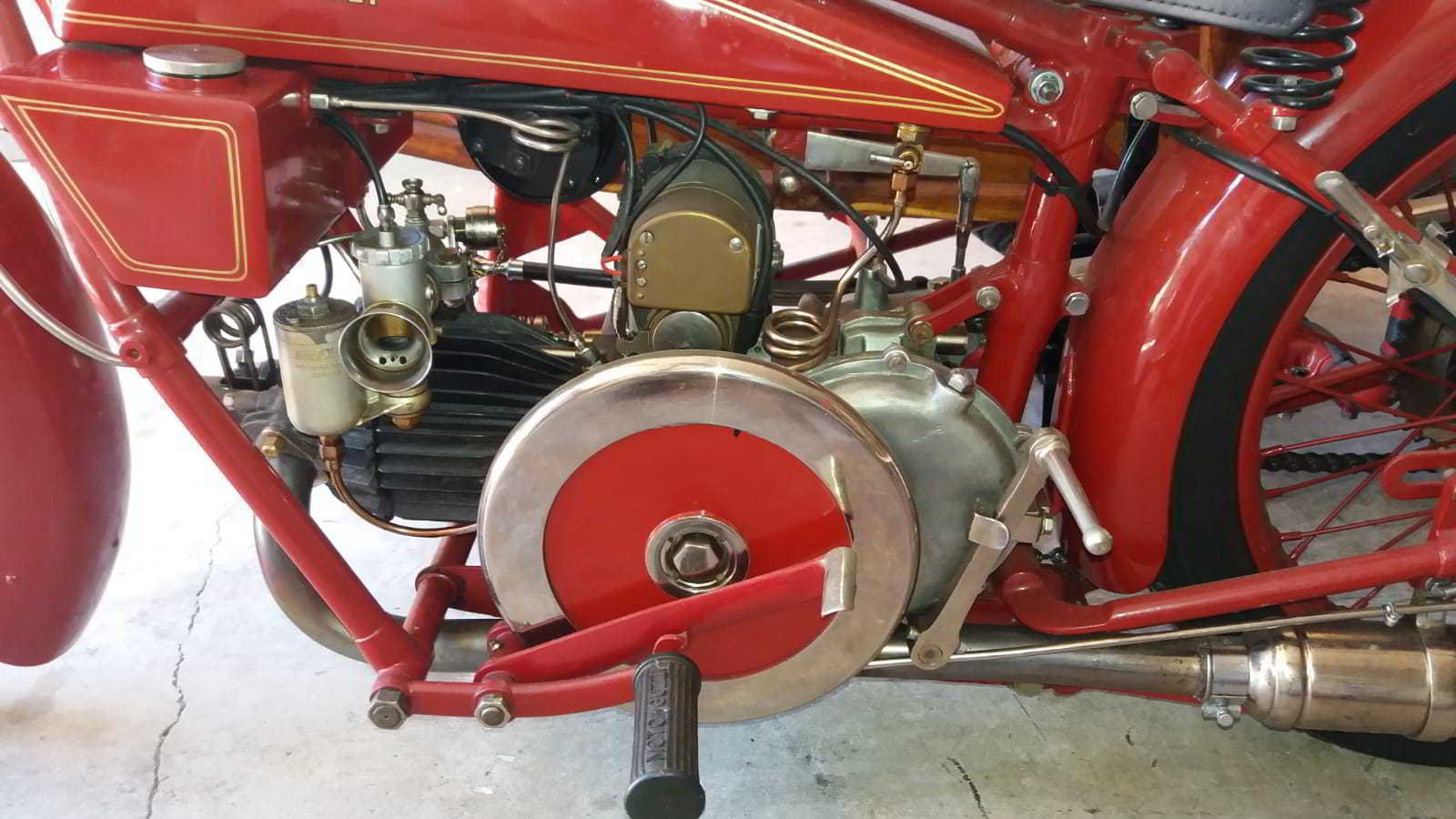 moto guzzi sport 14 sidecar 1929 For Sale (picture 3 of 4)