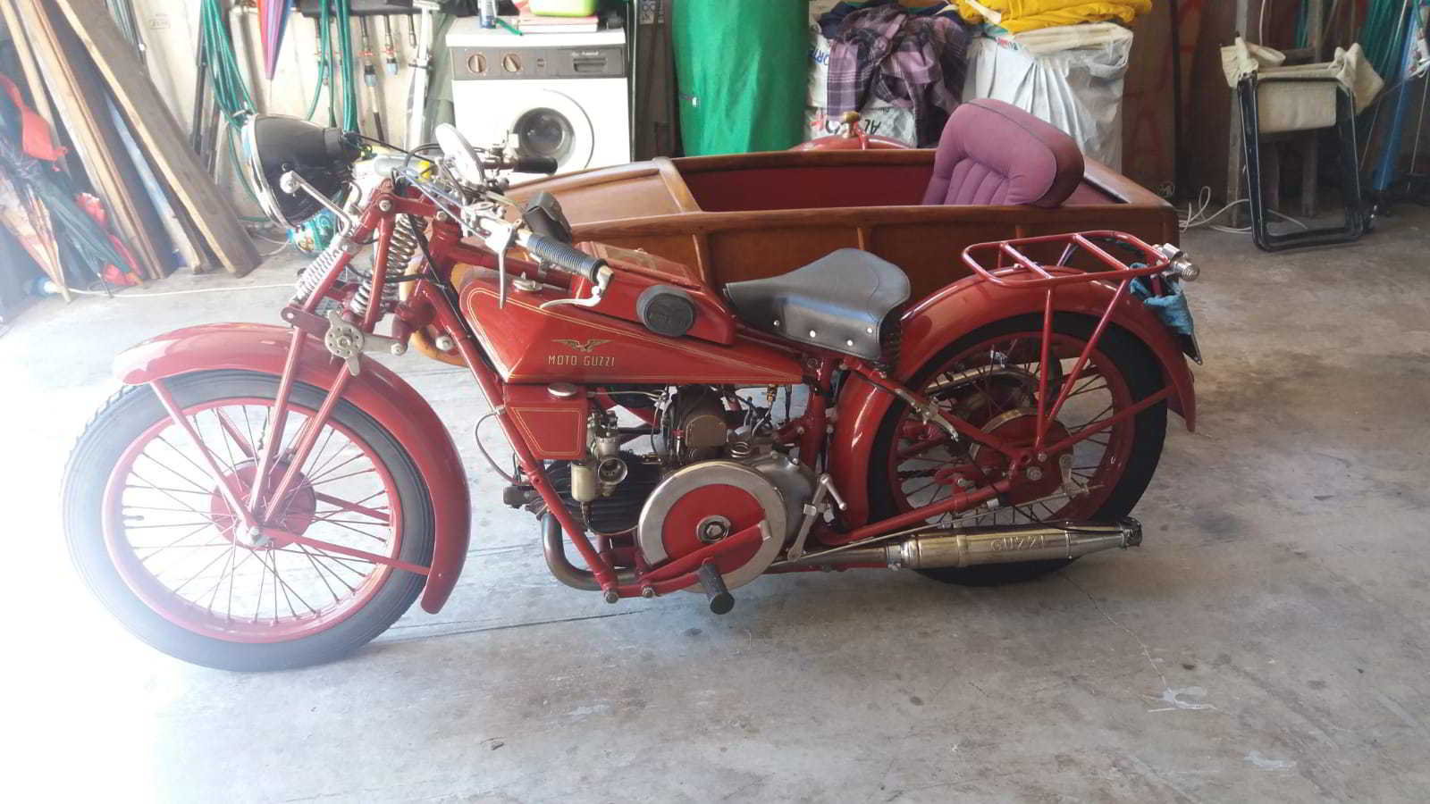 moto guzzi sport 14 sidecar 1929 For Sale (picture 4 of 4)