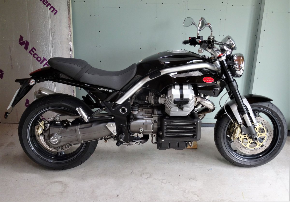 2006 moto guzzi griso 1100 4v just 3900 miles only for sale car and classic. Black Bedroom Furniture Sets. Home Design Ideas