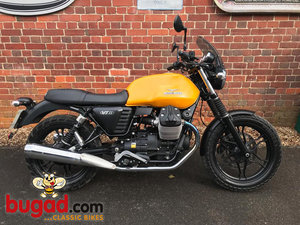 Moto Guzzi V7 Stone II - 2015 - 750cc V Twin, Shaft Drive SOLD