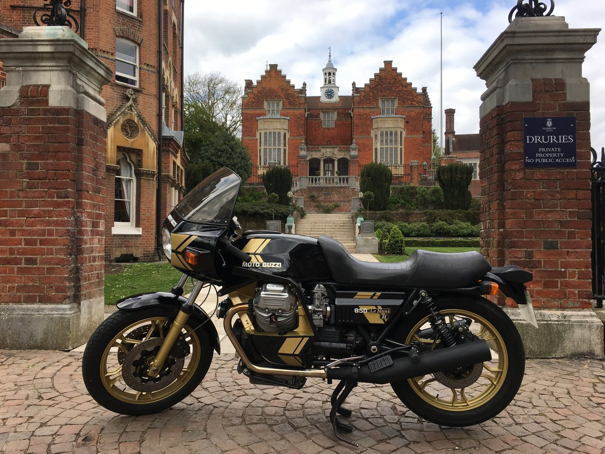 1980 Moto Guzzi Mk2 Coburn and Hughes - Limited edition For