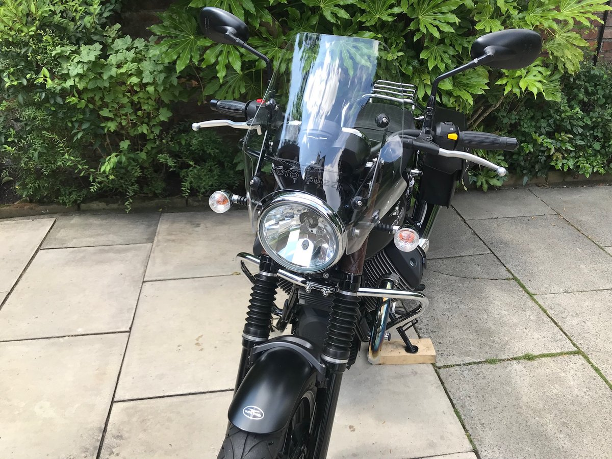 2014 Moto Guzzi V7 Stone, Only 1913miles, Perfect Condition For Sale (picture 6 of 6)