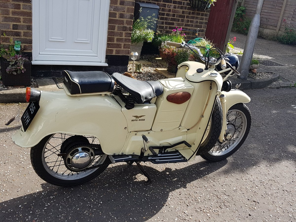 1955 Moto Guzzi Galletto For Sale (picture 1 of 6)