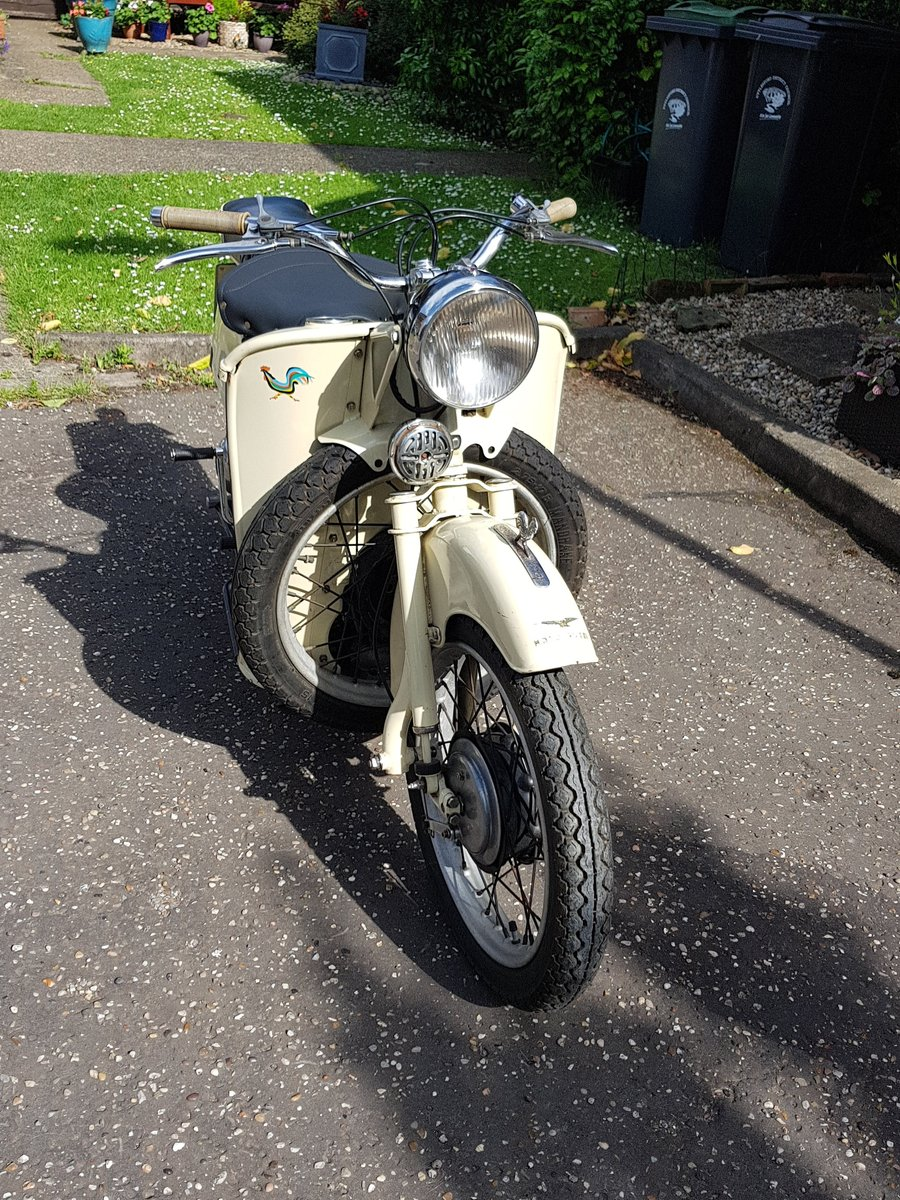 1955 Moto Guzzi Galletto For Sale (picture 2 of 6)