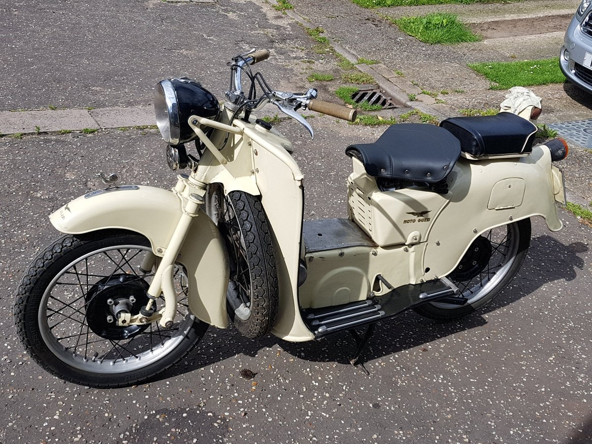 1955 Moto Guzzi Galletto For Sale (picture 6 of 6)