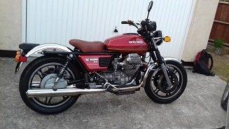 1980 Moto Guzzi V1000G5 Restored For Sale