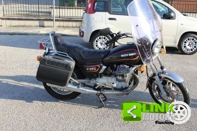 moto guzzi v65c 1985 BEN CONSERVATA,ISCRITTA ASI For Sale (picture 2 of 6)