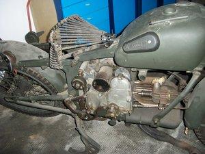 1942 Moto Guzzi ALCE army bike