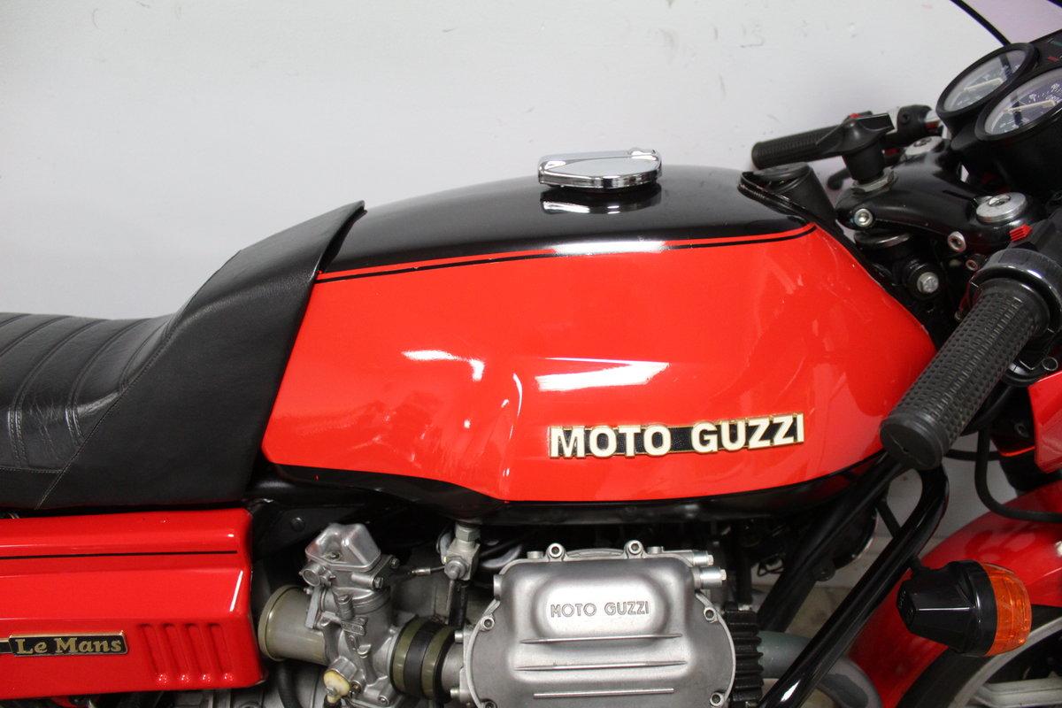 1976 Moto Guzzi MK 1 850 cc Le Mans Excellent SOLD (picture 3 of 6)