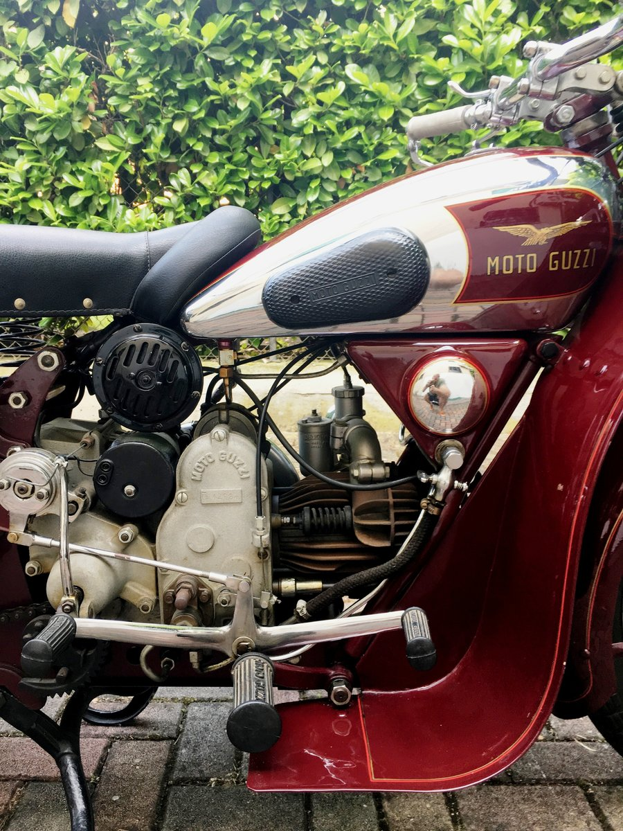 Moto Guzzi GTS 500 1938 For Sale (picture 5 of 6)