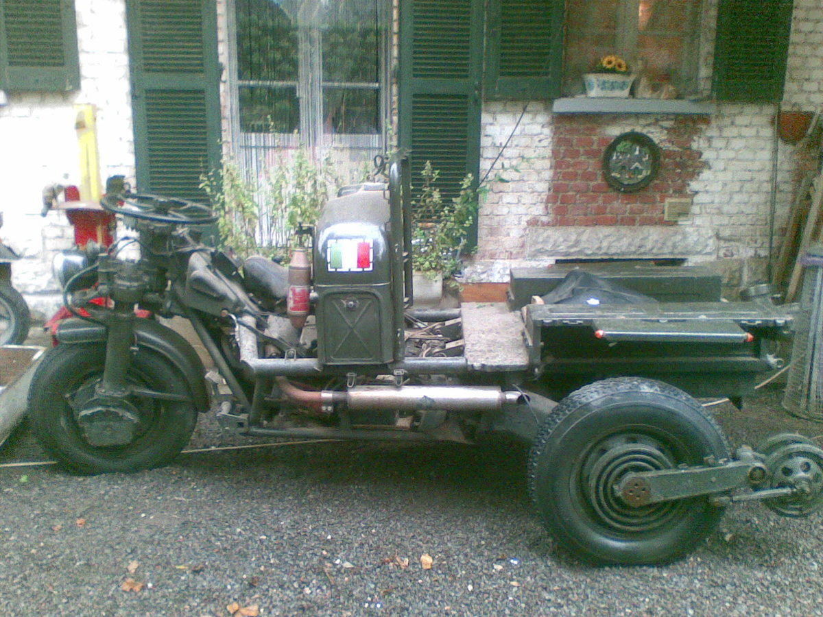 1960 Moto Guzzi Mechanic Mule 3x3 For Sale (picture 1 of 6)