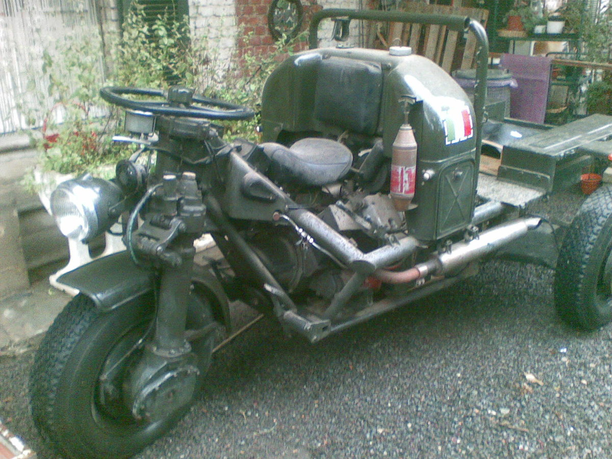 1960 Moto Guzzi Mechanic Mule 3x3 For Sale (picture 2 of 6)