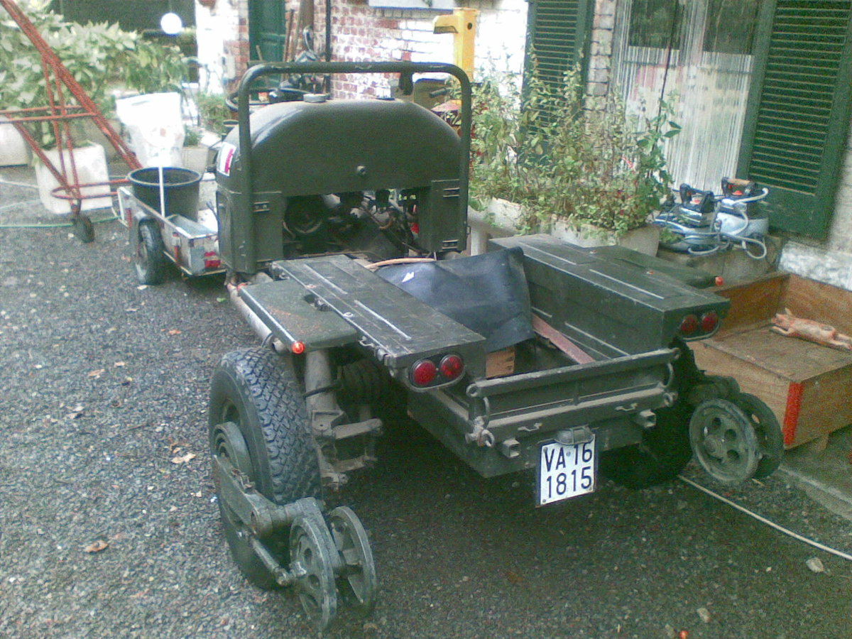 1960 Moto Guzzi Mechanic Mule 3x3 For Sale (picture 3 of 6)