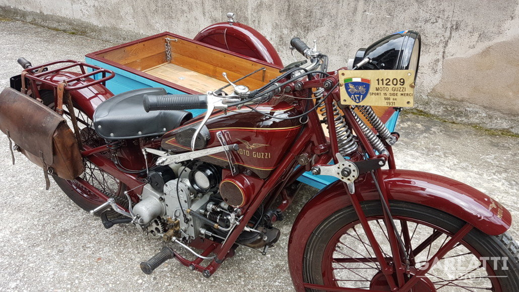 1931 Moto Guzzi Sport 15  cargo transport For Sale (picture 1 of 6)