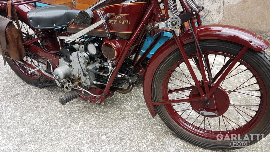 1931 Moto Guzzi Sport 15  cargo transport For Sale (picture 2 of 6)