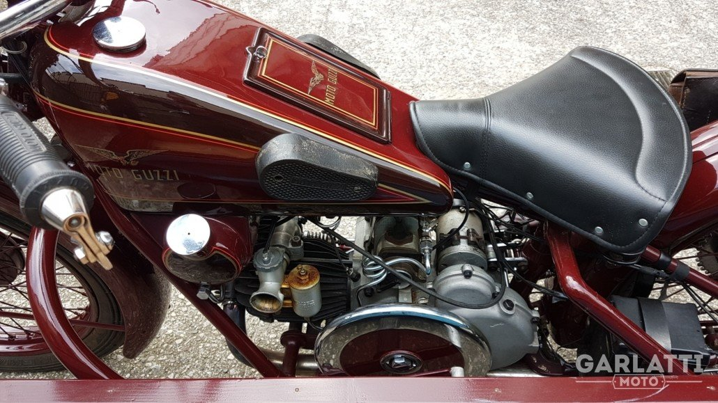 1931 Moto Guzzi Sport 15  cargo transport For Sale (picture 4 of 6)