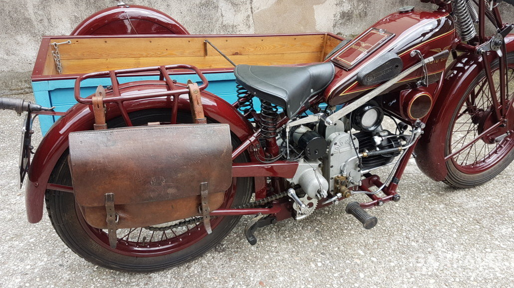 1931 Moto Guzzi Sport 15  cargo transport For Sale (picture 5 of 6)