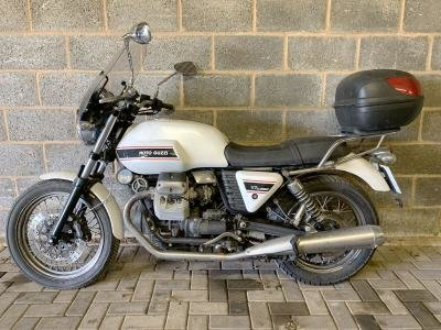 2010 Moto Guzzi V7 Classic For Sale by Auction (picture 1 of 6)
