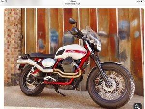 2016 V7 II Stornello ABS Italian scrambler For Sale