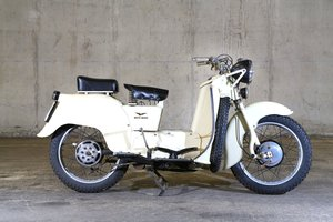 1955 Moto Guzzi Galetto 192  No Reserve   For Sale by Auction