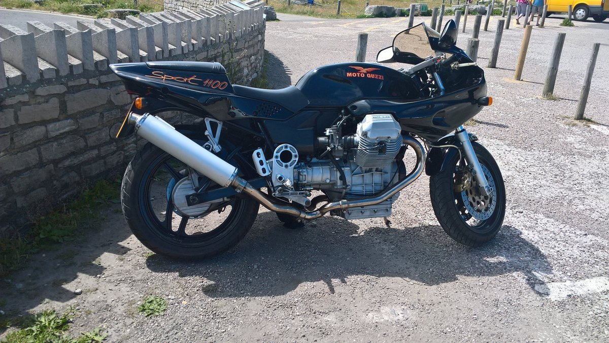 1996 Moto Guzzi 1100 Sport Carb. VGC. New MoT available. For Sale (picture 3 of 6)