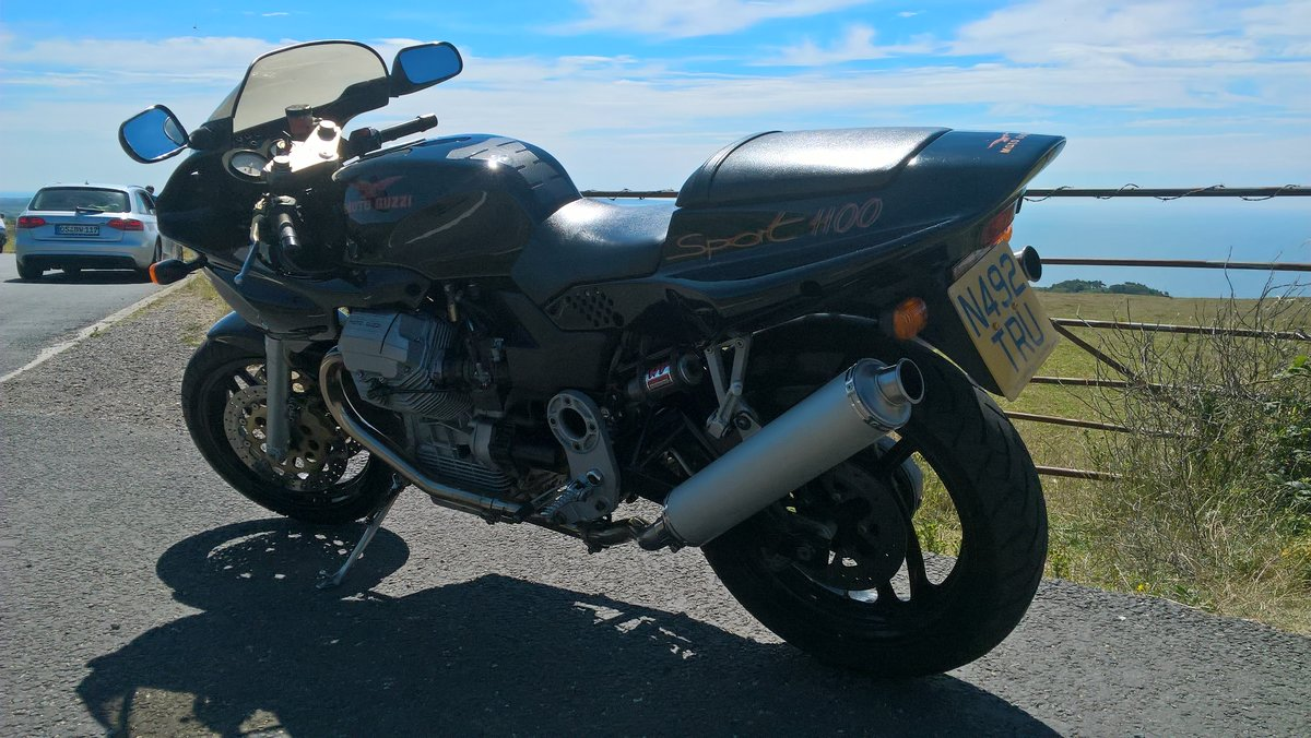 1996 Moto Guzzi 1100 Sport Carb. VGC. New MoT available. For Sale (picture 4 of 6)