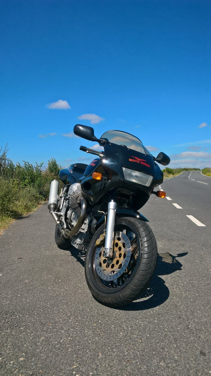 1996 Moto Guzzi 1100 Sport Carb. VGC. New MoT available. For Sale (picture 5 of 6)