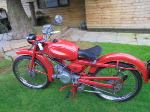 1961 moto guzzi cardellino 75cc lusso mint bike For Sale