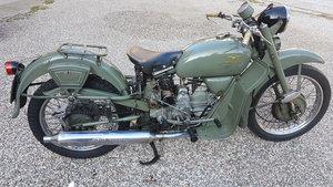 1960 Moto Guzzi Falcone polizia