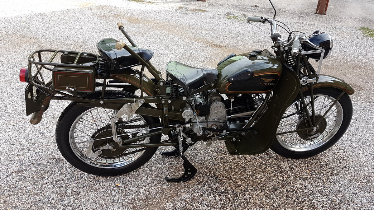 1950 Moto Guzzi Superalce For Sale (picture 2 of 6)