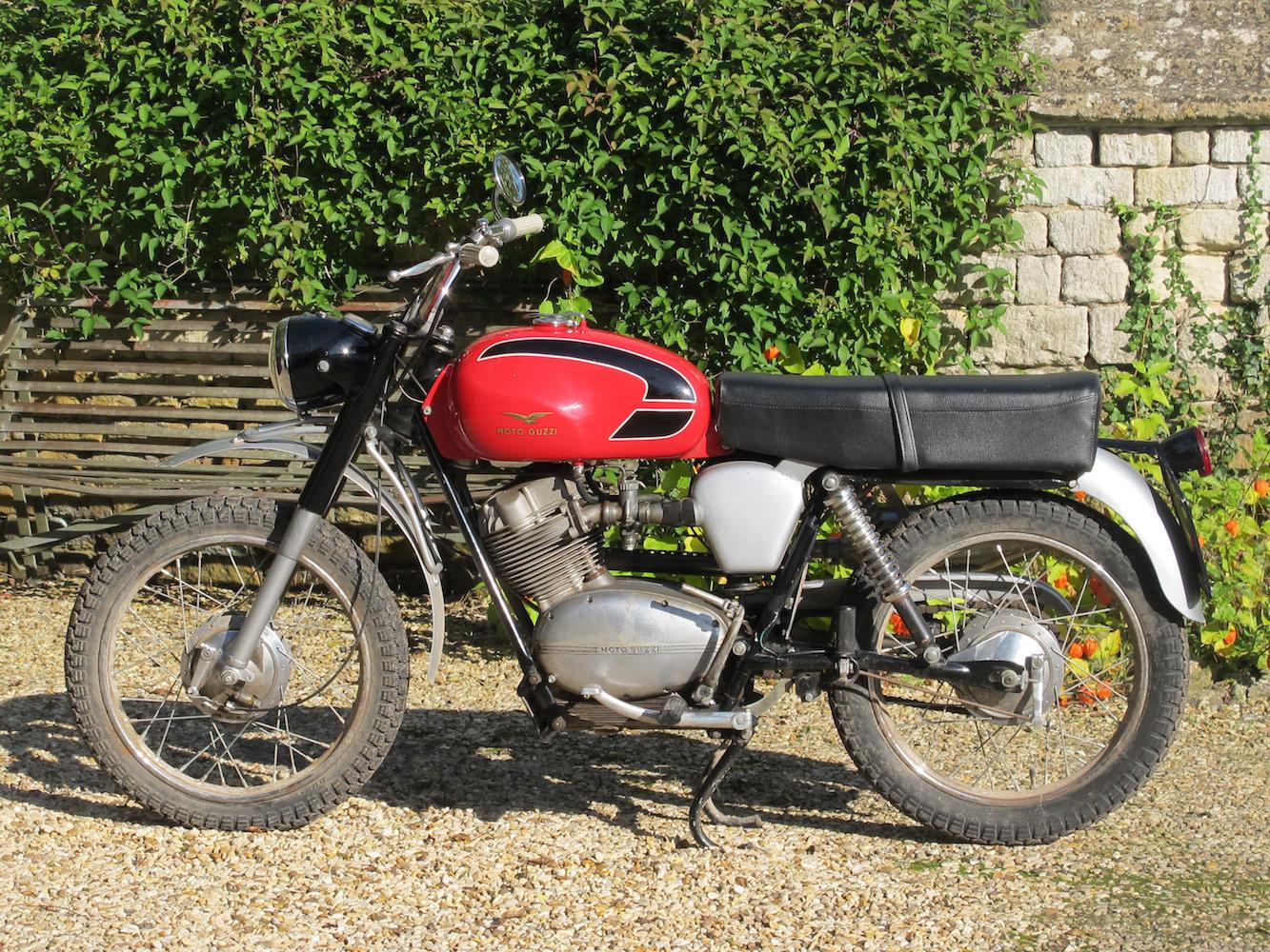 1968 Moto guzzi 125cc stornello For Sale (picture 1 of 6)