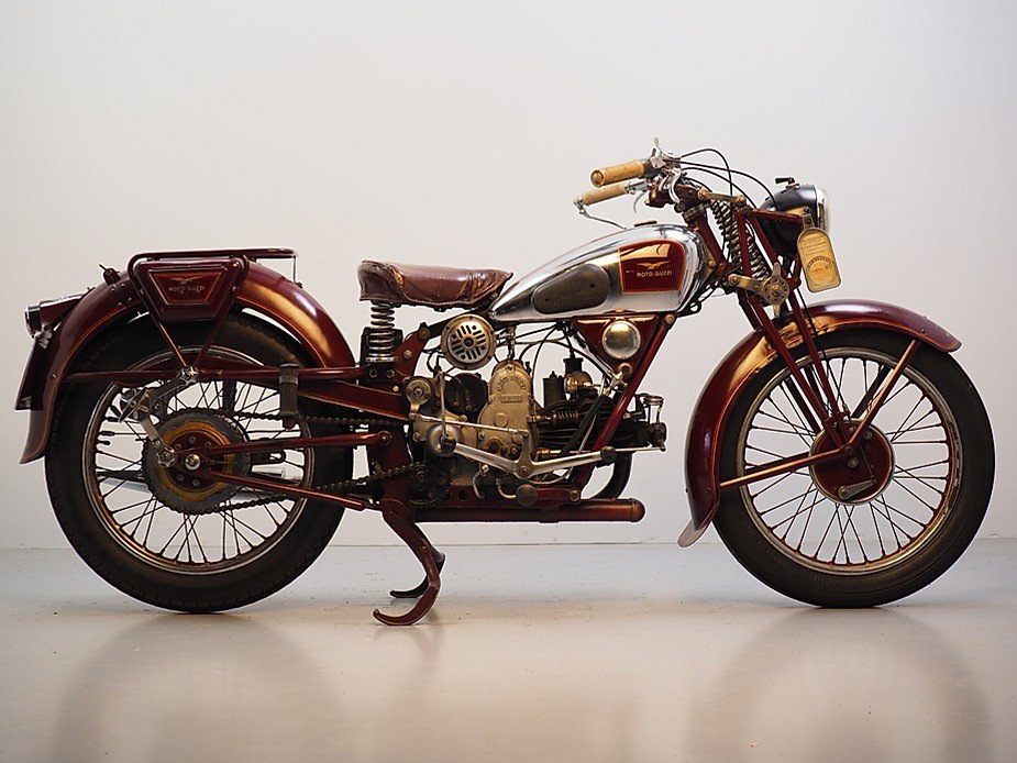 Moto Guzzi 1936, great runner with a lovely patina For Sale (picture 1 of 1)