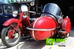 Moto Guzzi Astore Side del 1950, Targa Oro ASI, Totalmente  For Sale