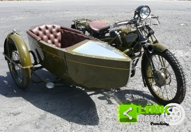 1928 Guzzi 500 Sport - Sidecar ASI For Sale (picture 1 of 6)