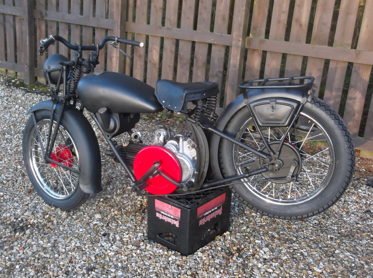 1935 moto guzzi vintage project For Sale (picture 1 of 6)