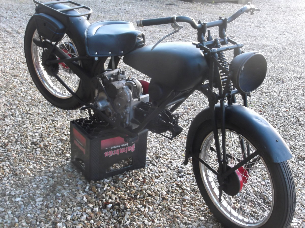1935 moto guzzi vintage project For Sale (picture 4 of 6)
