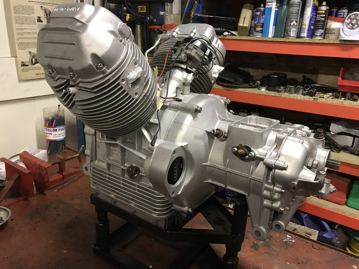 1976 Moto Guzzi 850 T3 Rebuilt Engine and Gearbox For Sale (picture 2 of 3)