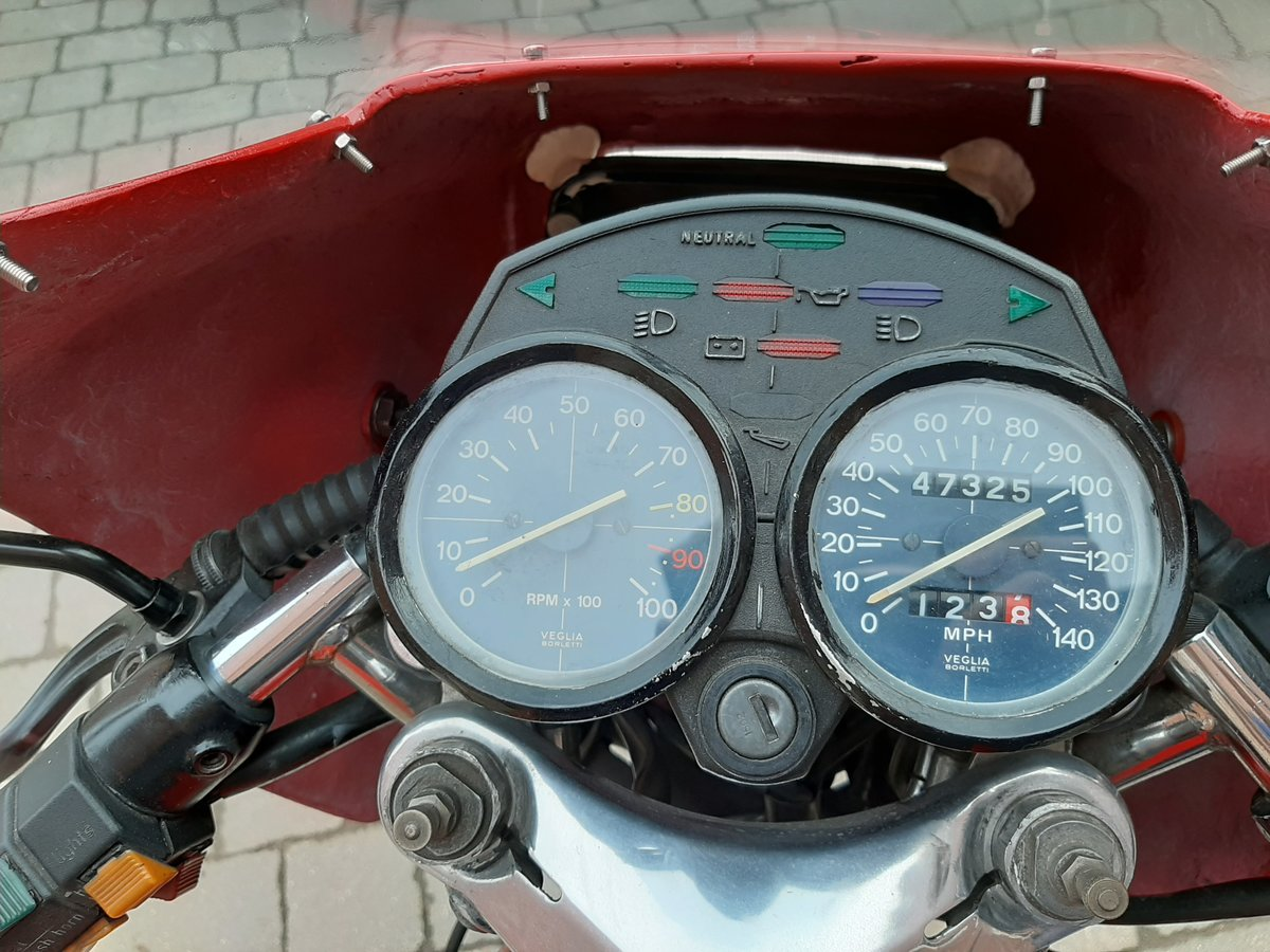 1982 Moto Guzzi V50 Monza  SOLD (picture 4 of 6)