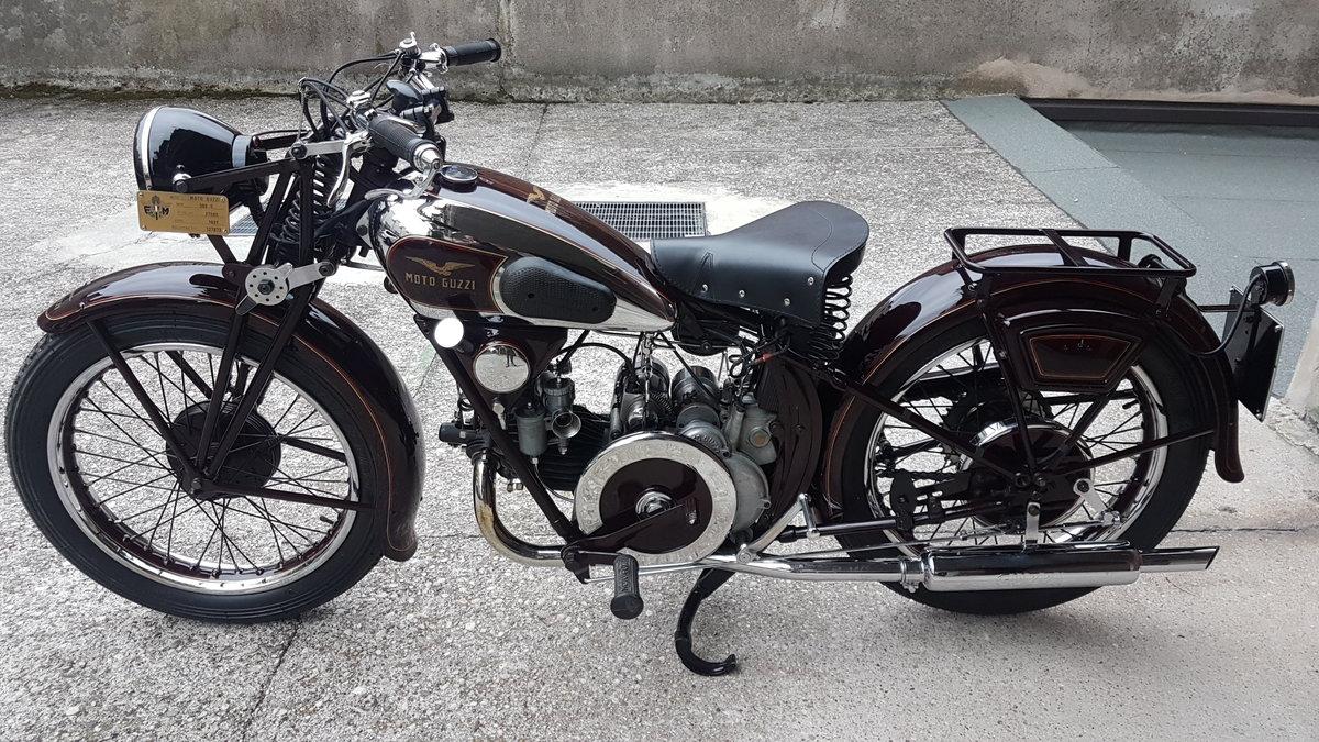1938 Moto Guzzi S Rigido For Sale (picture 1 of 6)