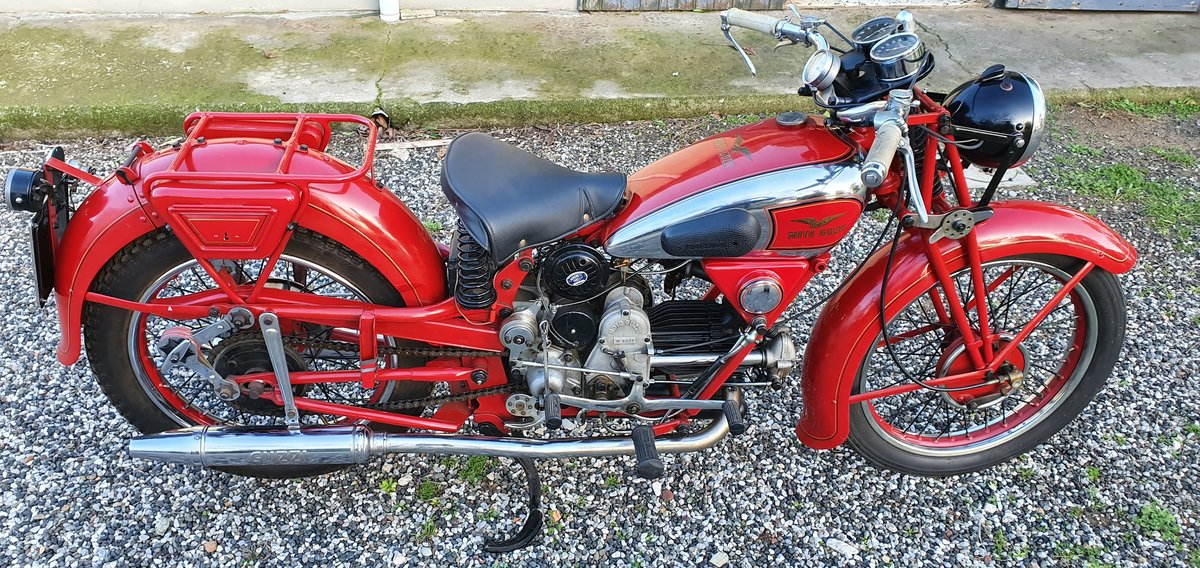 1938 Moto Guzzi GTW For Sale (picture 1 of 6)