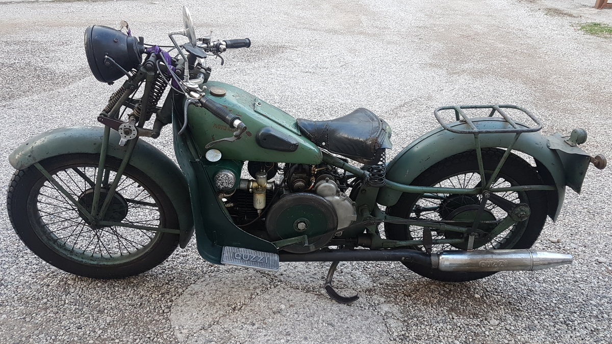 1945 Moto Guzzi Gt 2VT For Sale (picture 1 of 6)