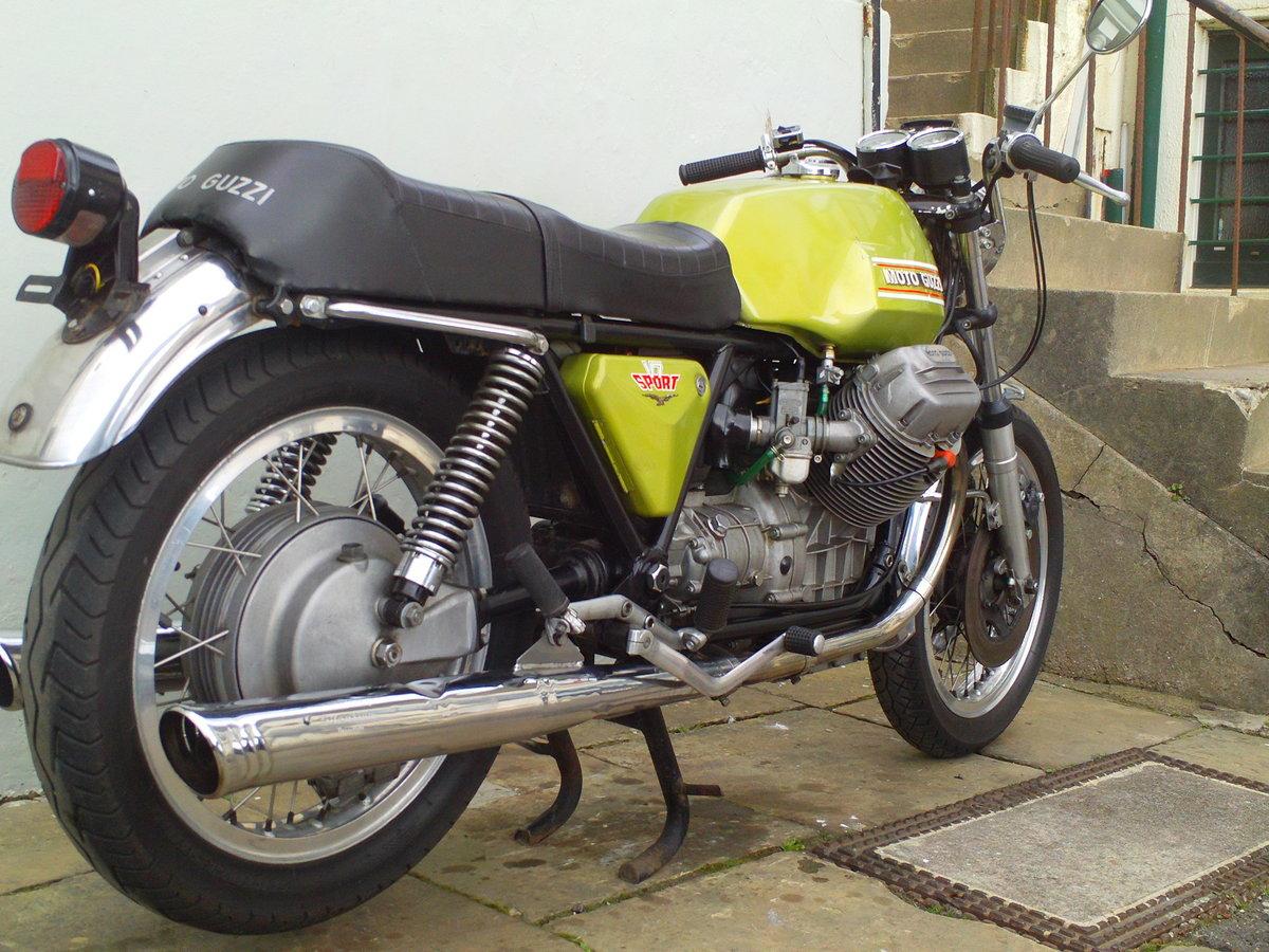 1973 MOTO GUZZI V7 SPORT SOLD (picture 2 of 6)