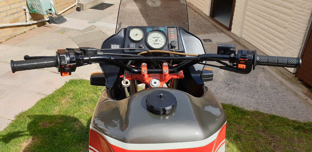 1992 Very rare moto guzzi NTX350.  11500 MILES. For Sale (picture 4 of 6)