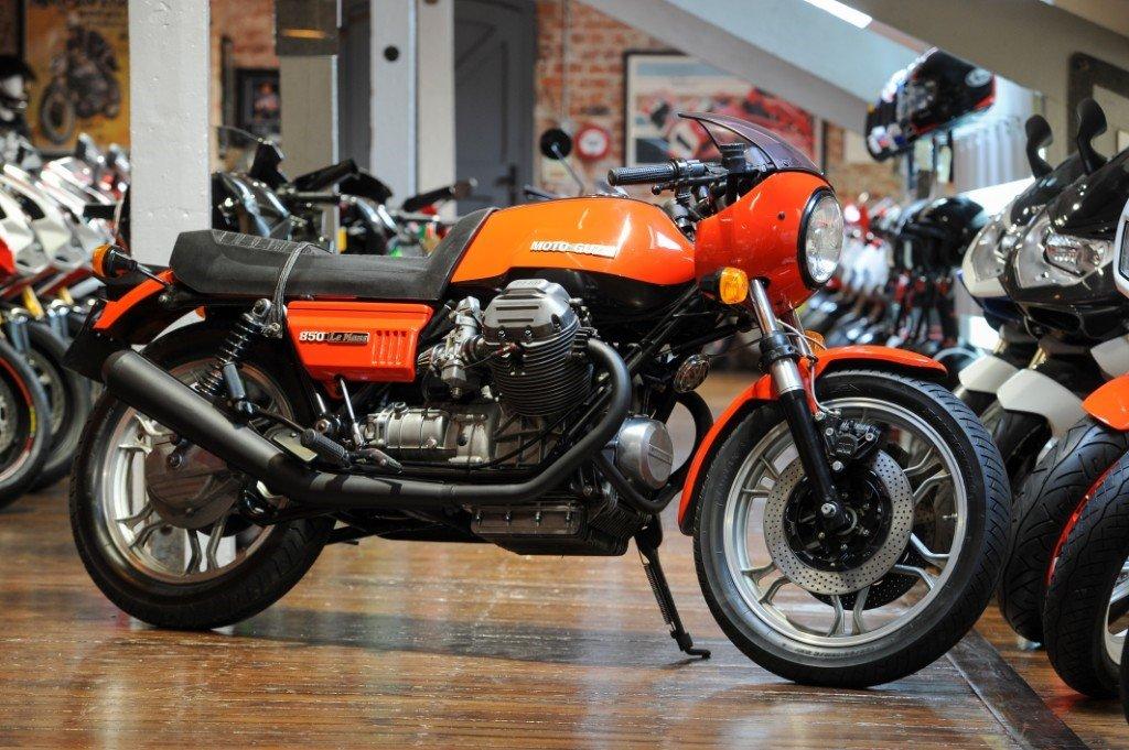 1978 Moto Guzzi Lemans MK 1 Original Italian Classic For Sale (picture 1 of 6)