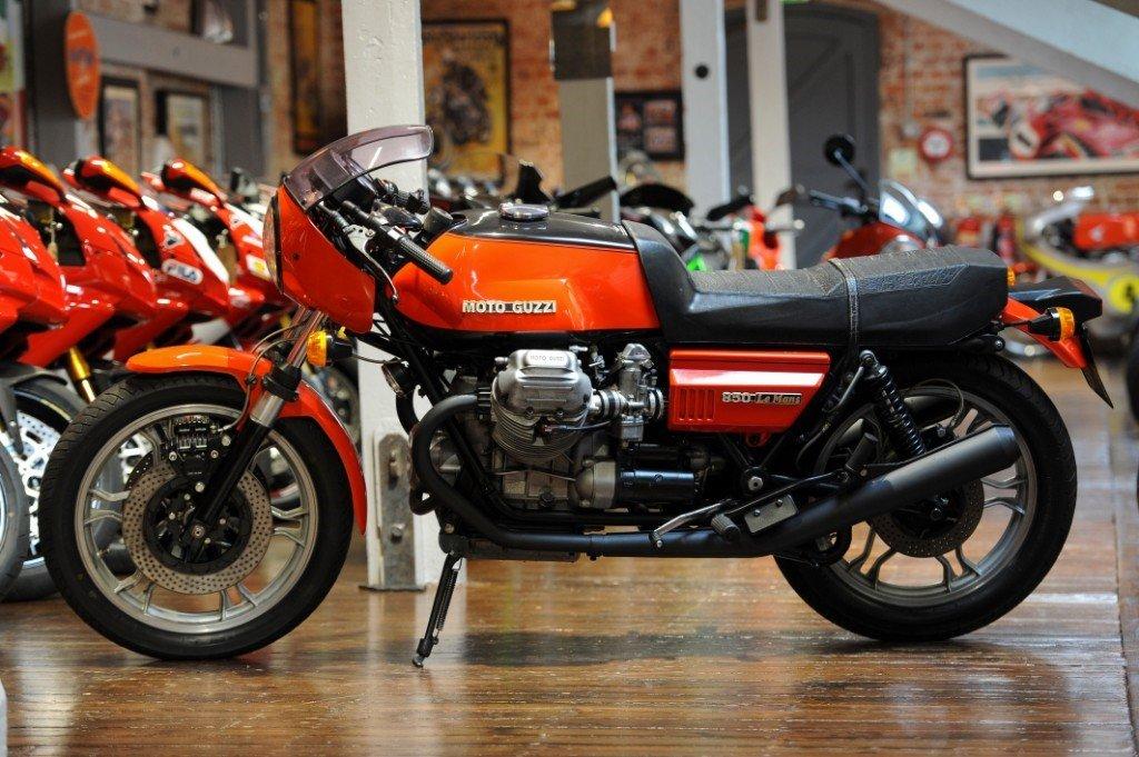 1978 Moto Guzzi Lemans MK 1 Original Italian Classic For Sale (picture 6 of 6)