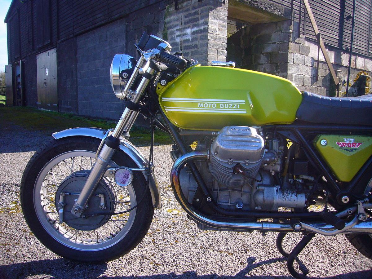 1972 Moto Guzzi V7 Sport SOLD (picture 6 of 6)