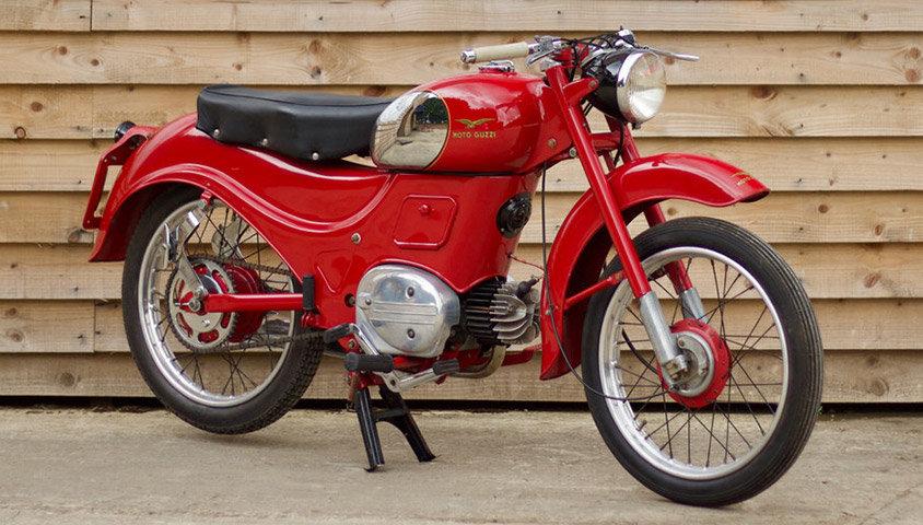 1957 Moto Guzzi Zigolo 98cc For Sale (picture 1 of 6)